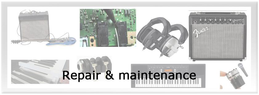 School P.A._Service Sound Repair & maintenance