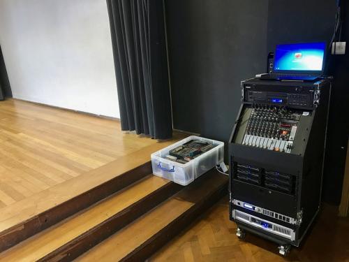 School custom portable P.A. system 6