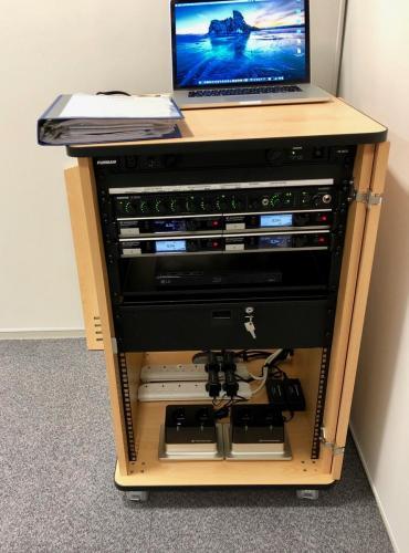 Standard AV cabinet P.A. system 2