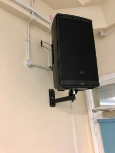 School PA system Speaker medium-weight 8